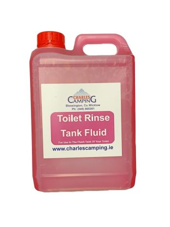 Pink Toilet Flush Rinse Fluid 5ltr