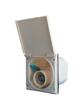 Flush Fitting Mains Inlet Socket