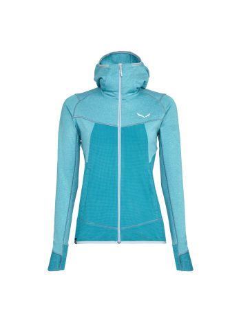 Salewa Puez Hybrid Polarlite Womens Hooded Jacket