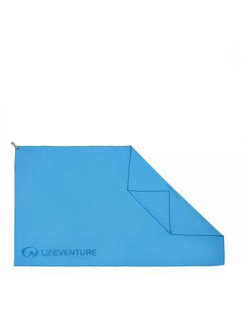 Lifeventure Soft Fibre Blue Travel Towel Giant