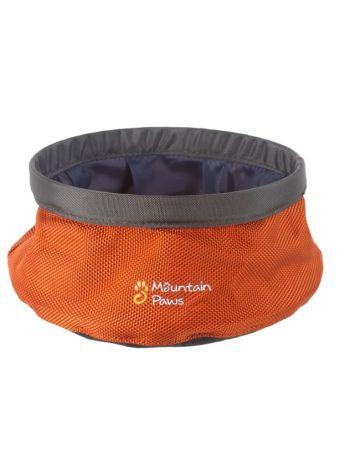 Mountain Paws Small Dog Water Bowl - Orange