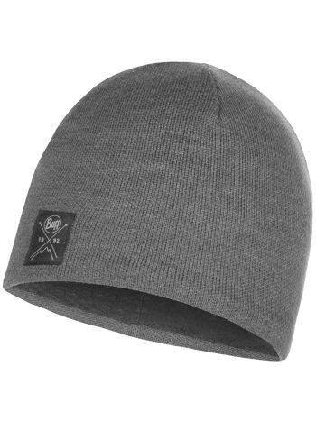 Buff Solid Hat Grey