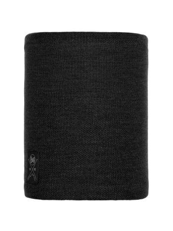Buff Solid Neckwarmer Black