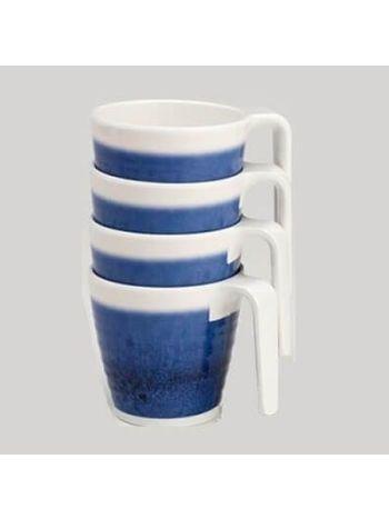 Azure Stacking Mug Set