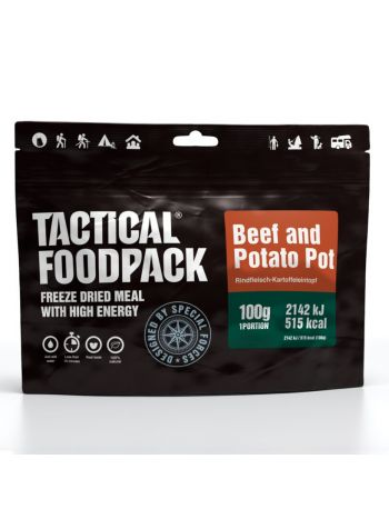 Tactical Foodpack Beef and Potato Pot 100g