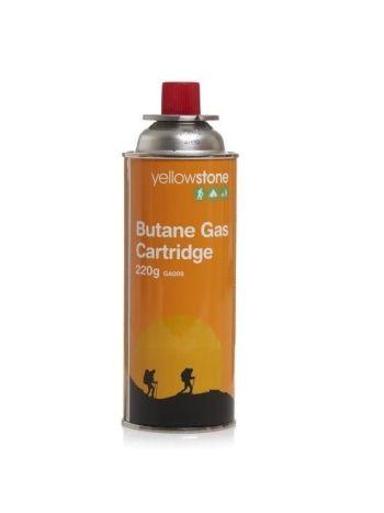 Butane Gas Cartridge 220g