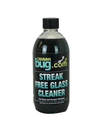 Caravan Bug Streak Free Glass Cleaner - 500ml