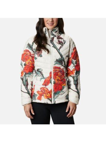 Columbia Women's Powder Lite™ Jacket Chalk Botanica