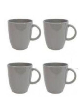 Cool Grey Non Slip Mug Set