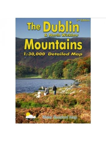 Dublin & North Wicklow Mountains Map