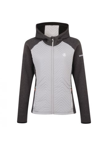 Dare2B Glorious Hooded Fleece - Charcoal Cloudy Grey