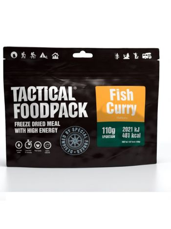 Tactical Foodpack Fish Curry and Rice 110g