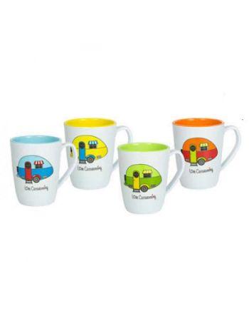 Love Caravaning Mug Set