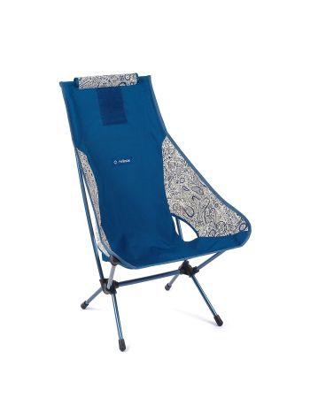 Helinox Chair Two Blue Paisley