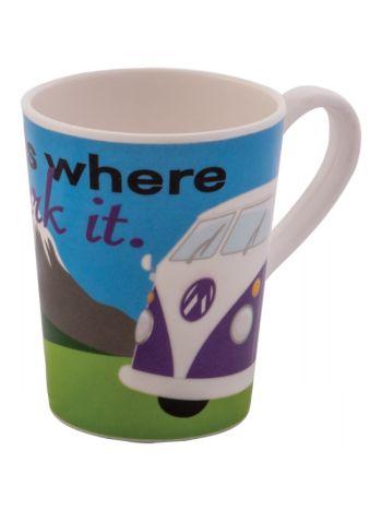 Home Is Where You Park It VW Mug