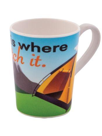 Home Is Where You Pitch It Mug