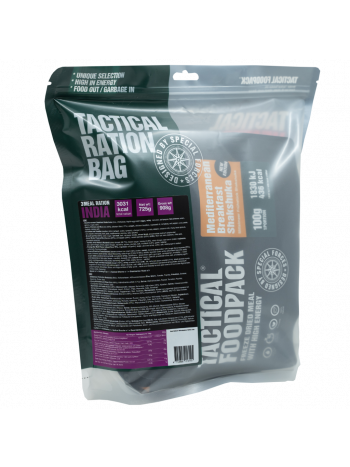 Tactical Foodpack 3 Meal Ration INDIA 725g