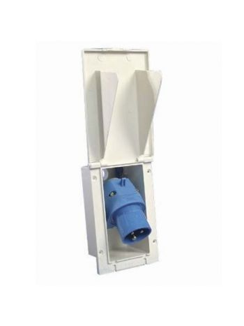 MPK Angled Mains Inlet Socket
