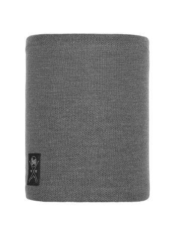 Buff Solid Neckwarmer Grey