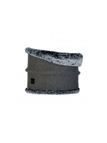Buff Knitted Neckwarmer Comfort Kesha Grey
