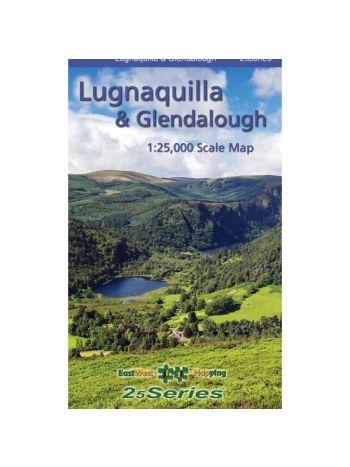 Lugnaquilla & Glendalough 1:25,000 Laminated