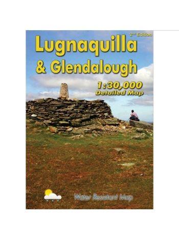 Lugnaquilla & Glendalough Map