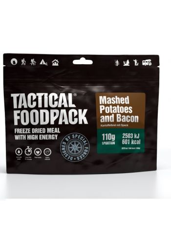 Tactical Foodpack Mashed Potatoes and Bacon 110g
