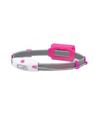 LED Lenser NEO Pink Headtorch