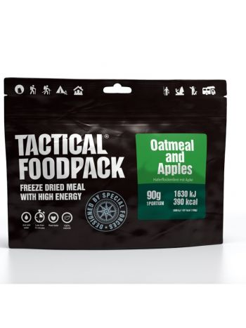 Tactical Foodpack Oatmeal and Apples 90g
