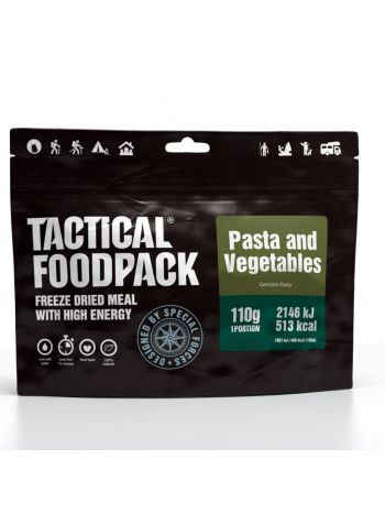 Tactical Foodpack Pasta and Vegetables 110g