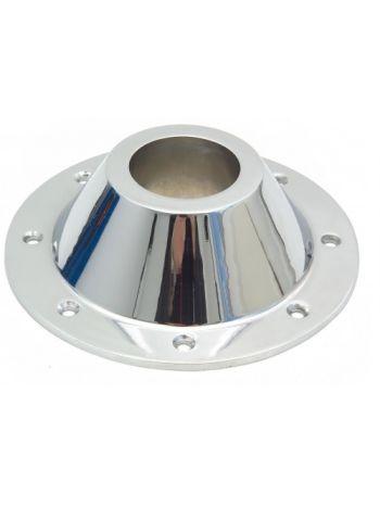 Polished Aluminium Conic Base