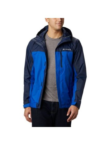 Columbia Pouring Adventure Mens Jacket - Blue