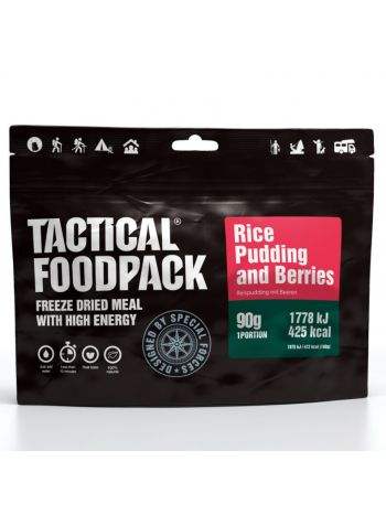 Tactical Foodpack Rice Pudding and Berries 90g