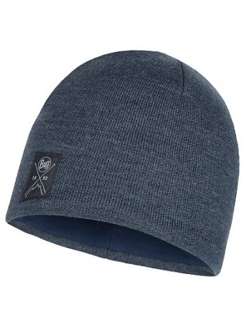 Buff Solid Hat Navy