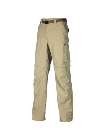 Columbia Silver Ridge Mens Convertible Trousers Tusk