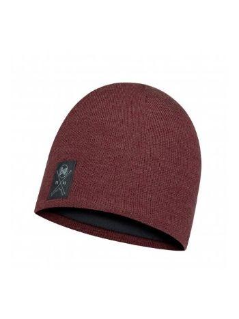 Buff Solid Hat Maroon