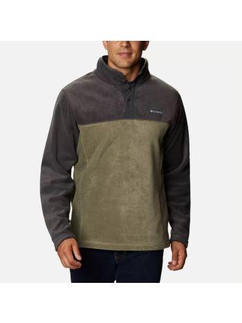 Columbia Men's Steens Mountain™ Half Snap Fleece - Stone Green
