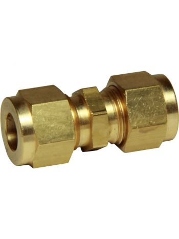 Gas Fitting - Straight Coupler