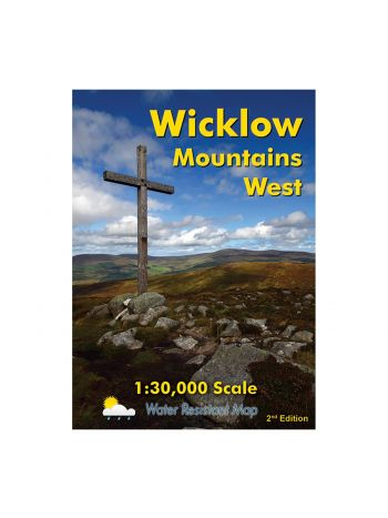 Wicklow Mountains West Map