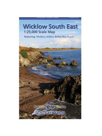 Wicklow South East 1:25,000 Laminated